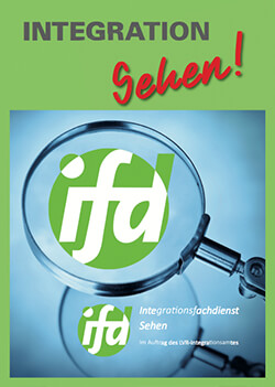 Cover des IFD Sehen Flyers